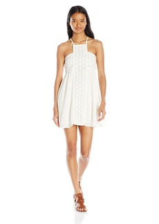 O'Neill Juniors Shelby Gauze and Crochet Dress