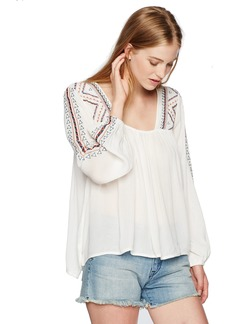 O'NEILL Junior's Sidra Embroidered Top  M