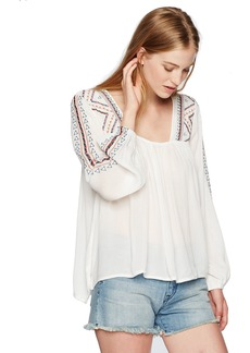O'Neill Junior's Sidra Embroidered Top  S