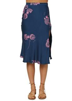 O'Neill Juniors' Slippin Printed Skirt