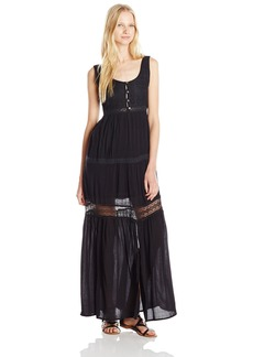 O'Neill Junior's Stormy Woven Maxi Tank Dress