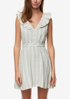 O'Neill Juniors' Striped Ruffled Dress