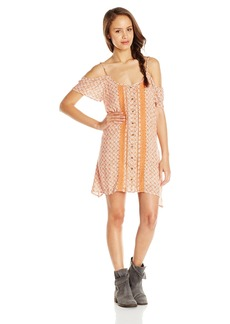 O'Neill Junior's Suri Woven Sleeved Dress