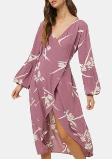 O'Neill Juniors' Talina Asymmetrical Midi Dress