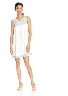 O'Neill Junior's Tulip Embroidered Tank Dress  M