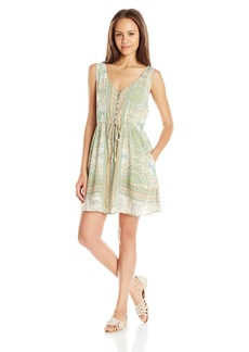 O'Neill Juniors Twiggy Printed Woven Dress