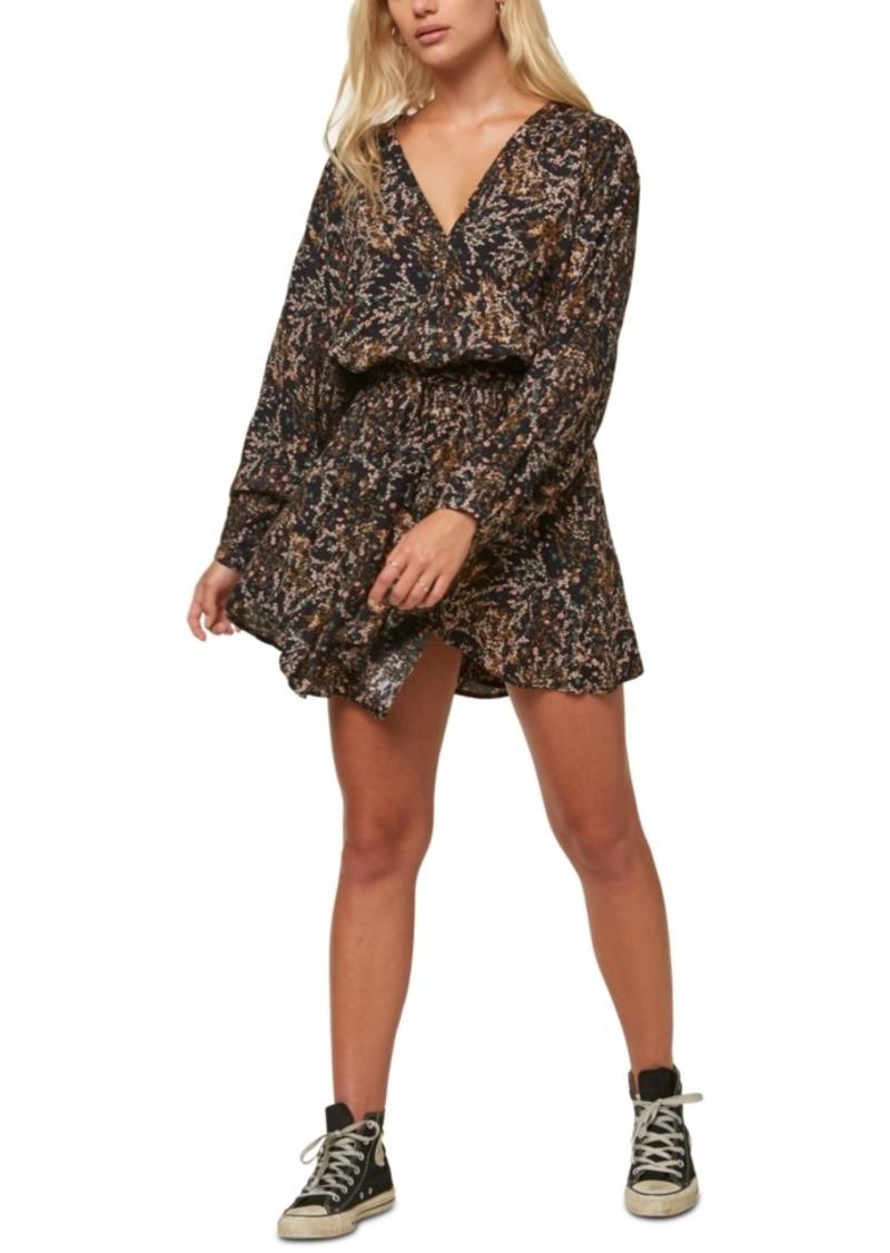 O'Neill Juniors' Tylee Printed Blouson Dress