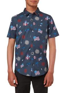 O'Neill Kids' Capitol Chill Button-Up Shirt (Big Boy)