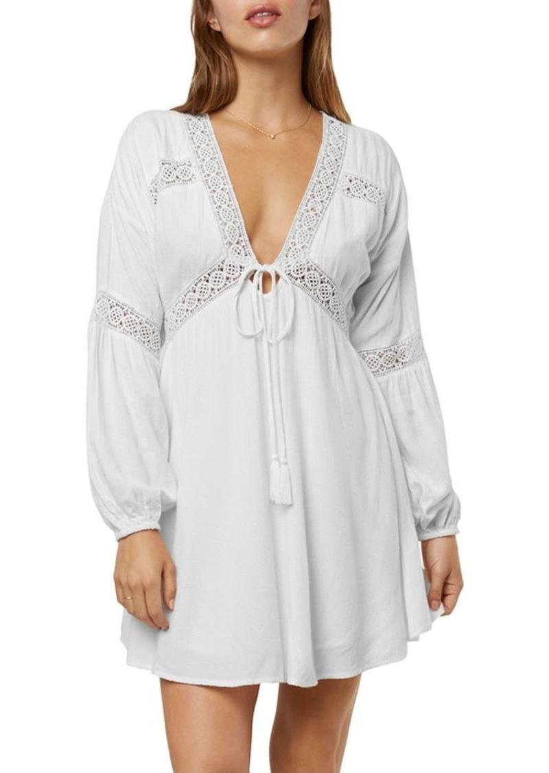 O'Neill Kimoura Crochet-Inset Dress