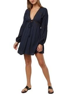 O'Neill Kimoura Long Sleeve Minidress