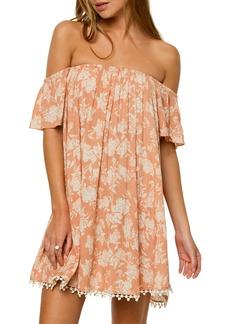 O'Neill Kinsey Off the Shoulder Dress
