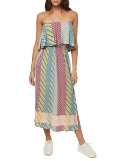 O'Neill Koi Strapless Midi Dress