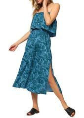 O'Neill Koia Strapless Midi Dress
