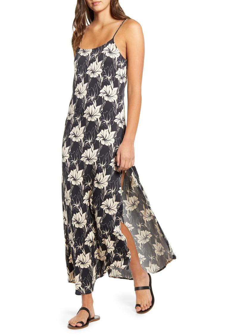 O'Neill Koko Floral Print Maxi Dress