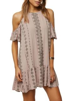 O'Neill Landon Cold Shoulder Dress