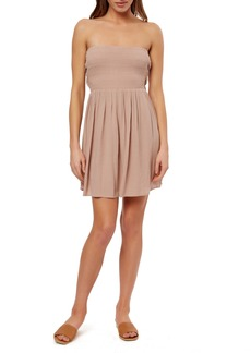 O'Neill Lawrence Convertible Strapless Minidress