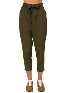 O'Neill Layover Paperbag Waist Ankle Pants