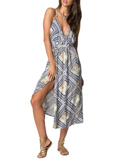 O'Neill Leelee Midi Wrap Dress