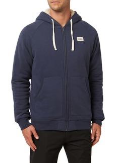 O'Neill Legacy Fleece Lined Zip Hoodie