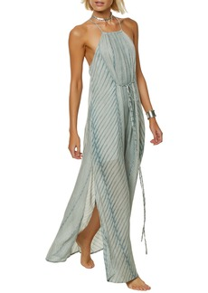O'Neill Lenore Stripe Maxi Dress