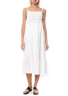 O'Neill Lexi Lace Trim Midi Dress