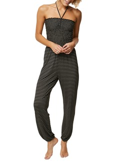 O'Neill Linque Stripe Knit Jumpsuit