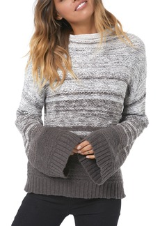 O'Neill Lodge Flare Sleeve Sweater