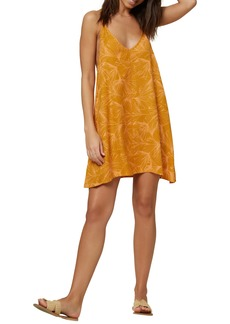 O'Neill Lotan Floral Print Racerback Dress