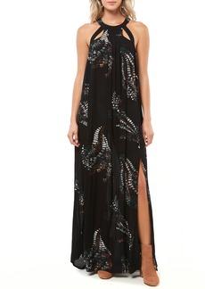O'Neill Luka Cutout Maxi Dress