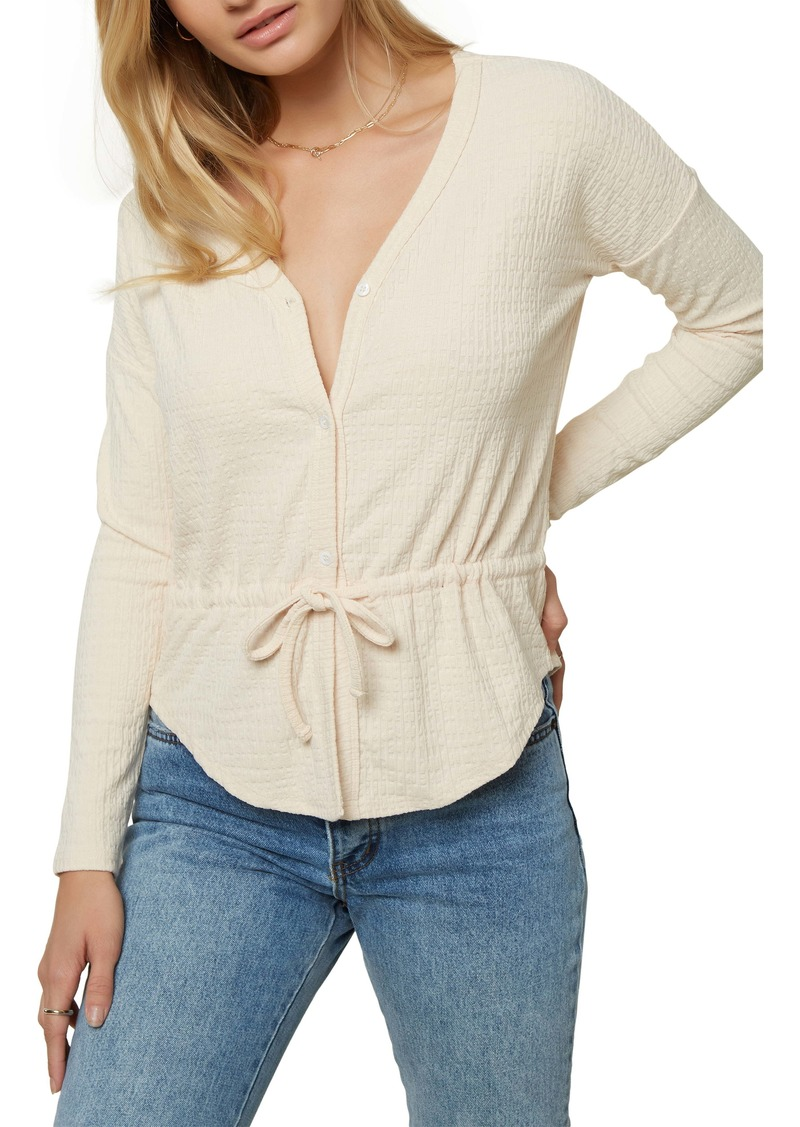 O'Neill Lydia Long Sleeve Knit Top