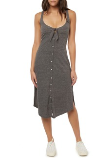 O'Neill Makra Ribbed Midi Dress