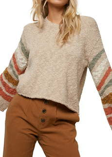 O'Neill Mandalay Stripe Sleeve Sweater