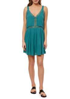 O'Neill Mariah Crochet Trim Minidress