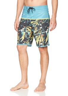 O'NEILL Men's 20 Inch Outseam Hyperfreak Stretch Swim Boardshort Ocean/Ruins