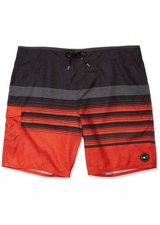 O'NEILL Men's 21 Inch Outseam Ultrasuede Swim Boardshort Neon Red/Lennox