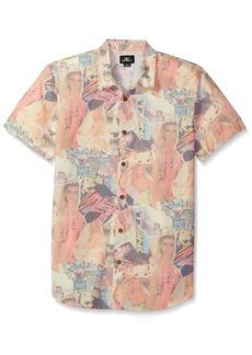 O'Neill Men's Babewatch Short Sleeve Woven Shirt  M