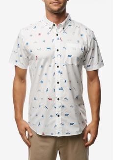 O'Neill Men's Backyard Bbq Short Sleeve Woven Shirt