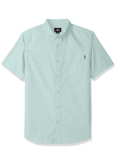 O'Neill Men's Banks Short Sleeve Woven Shirt  S