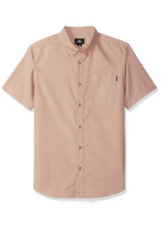 O'Neill Men's Banks Short Sleeve Woven Shirt  XXL