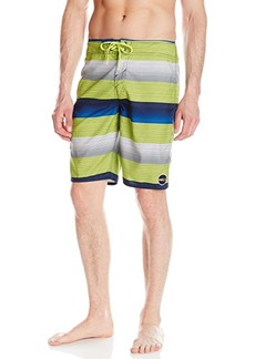 O'NEILL Men's Boardshort Lime Stripe/Santa Cruz