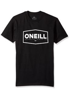 O'Neill Men's Builder Short-Sleeve ShirtsBlack