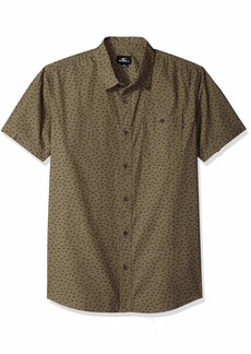 O'Neill Men's Central Short Sleeve Woven Shirt  XXL