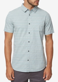 O'Neill Men's Collins Modern-Fit Stretch Stripe Shirt