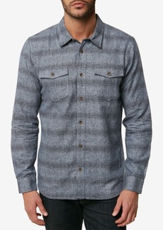 O'Neill Men's Covington Striped Flannel Shirt