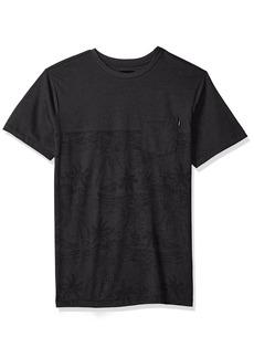 O'Neill Men's Standard Fit Pocket Logo Short Sleeve Tee Shirt Black/Crooked XXL