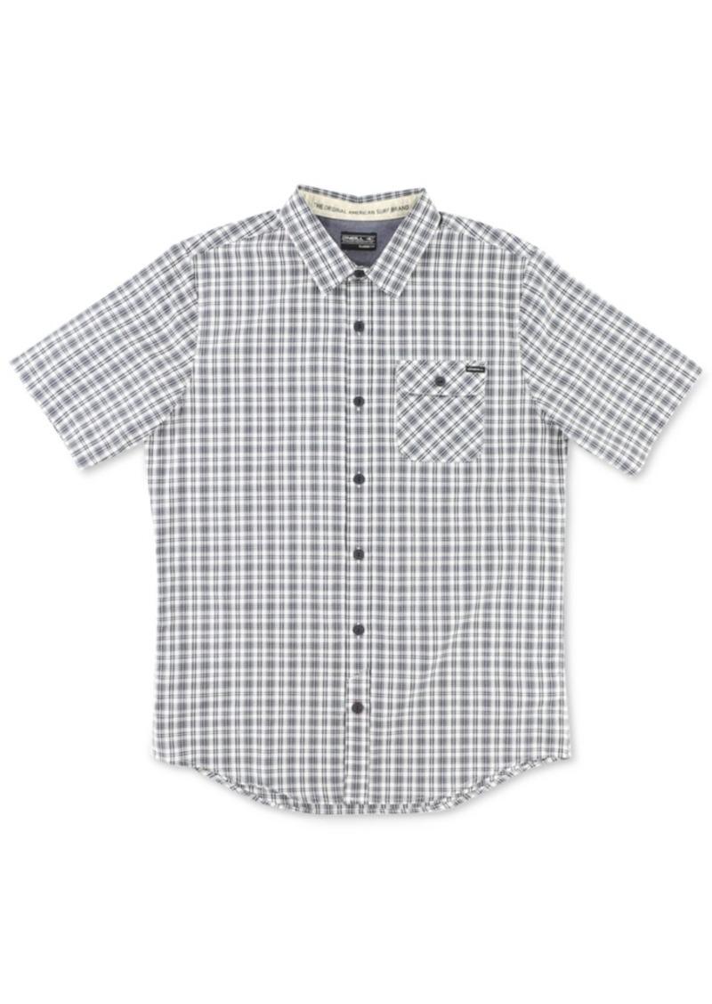 O'Neill Men's Emporium Check Short-Sleeve Shirt
