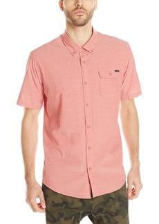 O'Neill Men's Emporium Solid Short Sleeve Shirt Spice 1