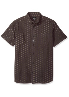 O'Neill Men's Fifty Two Short Sleeve Woven Shirt  S