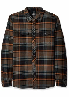 O'Neill Men's Flannel Shacket Shirt  XL