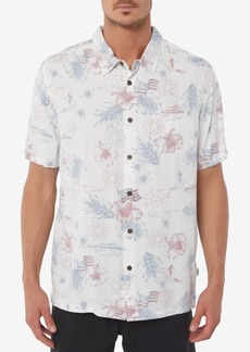 O'Neill Men's Freedom Americana Printed Shirt